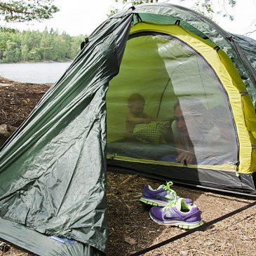 Sova i skogen med tre småbarn – går det?