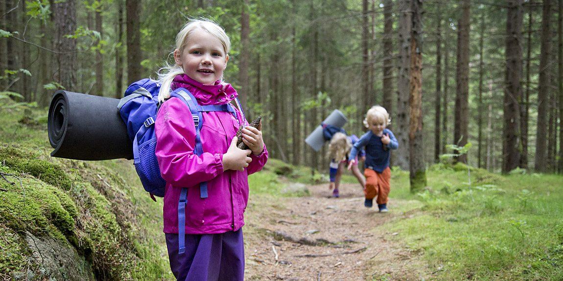 Vildmarkshelg för små äventyrare i Svartedalen