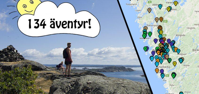 134 äventyr i Göteborg