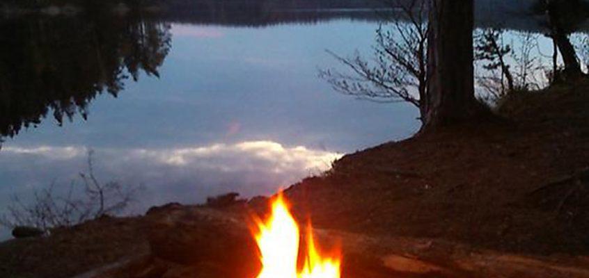 Vindskydd Stora Härsjön