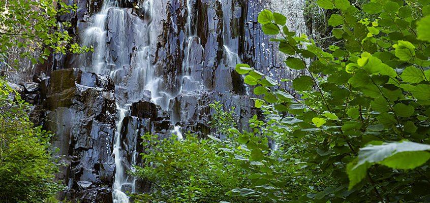 Brudslöjans vattenfall