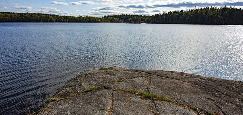 Badplats Stora Stamsjön